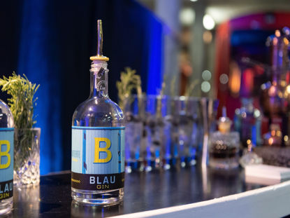 Picture of Gin BLAU limited, 50cl